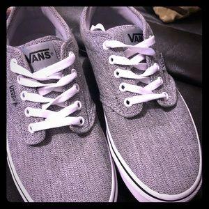 49ce7b314bdf4c Vans grey lace up sneakers